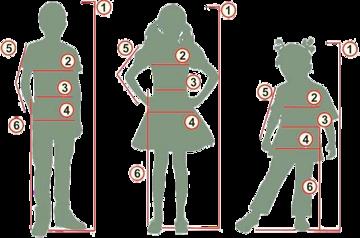 детская одежда замеры 1